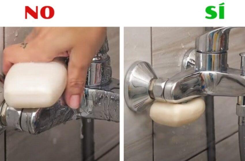 7 trucchi con il sapone che possono semplificarti la vita