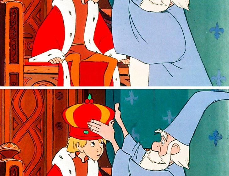 Trova le differenze in queste immagini tratte dai cartoni Disney più famosi