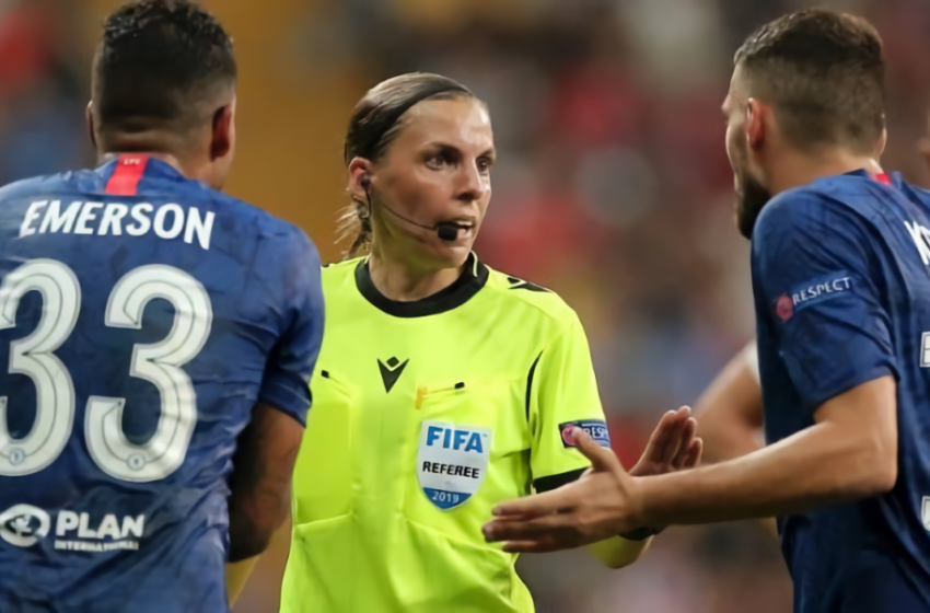 Juve-Dinamo Kiev affidata a Frappart: è la prima donna ad arbitrare in Champions