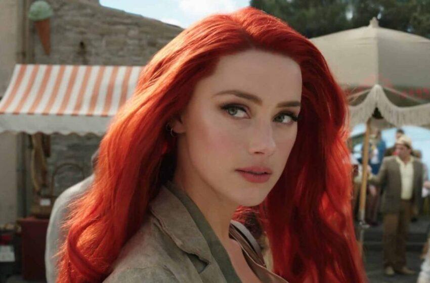 Una petizione chiede il licenziamento di Amber Heard da Aquaman 2