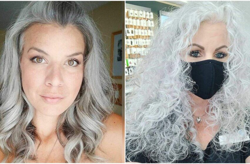 """""""Free The Silver"""", il movimento che incoraggia le donne a non usare la tinta per capelli"""