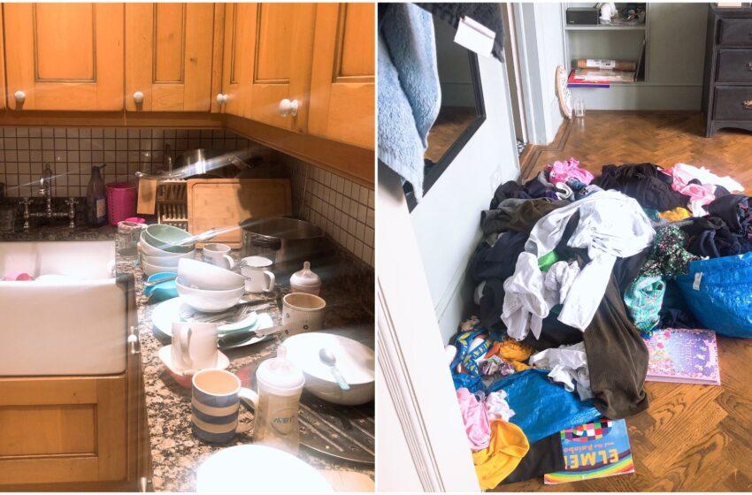 """Una mamma mostra cosa succede in casa quando entra """"in sciopero"""", il racconto è virale"""
