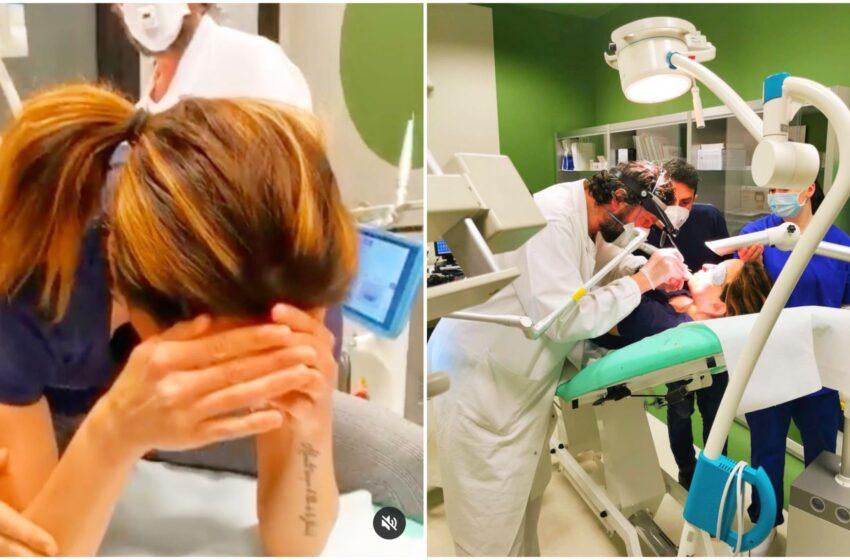 """Gessica Notaro, intervento per ricostruire il viso in diretta social: """"Piango dalla felicità"""""""