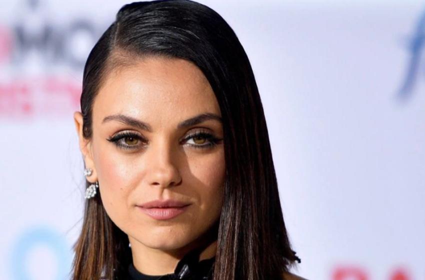 """Mila Kunis: """"Ho detto sì a un lavoro per uscire di casa, avevo bisogno di ferie dai miei figli"""""""