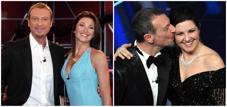 """Sanremo, Amadeus difende la moglie: """"Ci si stupisce della moglie ma non delle amanti"""""""