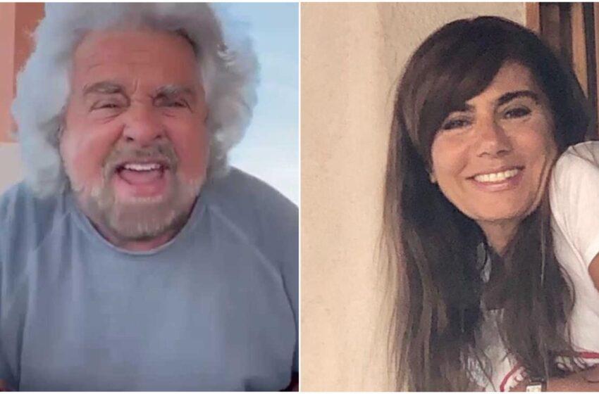 """Grillo, anche la moglie difende il figlio: """"La ragazza era consenziente, c'è un video"""""""