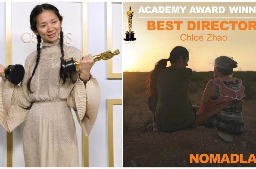Chloé Zhao vince l'Oscar 2021 per la Miglior Regia: è la seconda donna nella storia