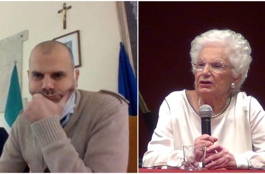 """Il sindaco che nega la cittadinanza a Liliana Segre: """"Sono convintamente antisemita"""""""