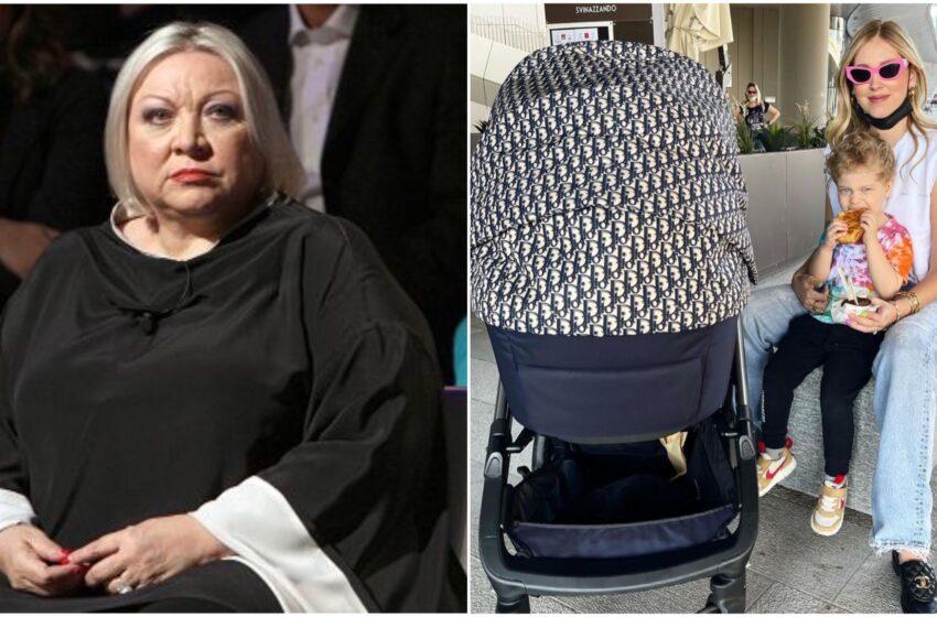 """Maglie choc: """"La Ferragni ha la depressione post partum e denuncia Regione Lombardia"""""""