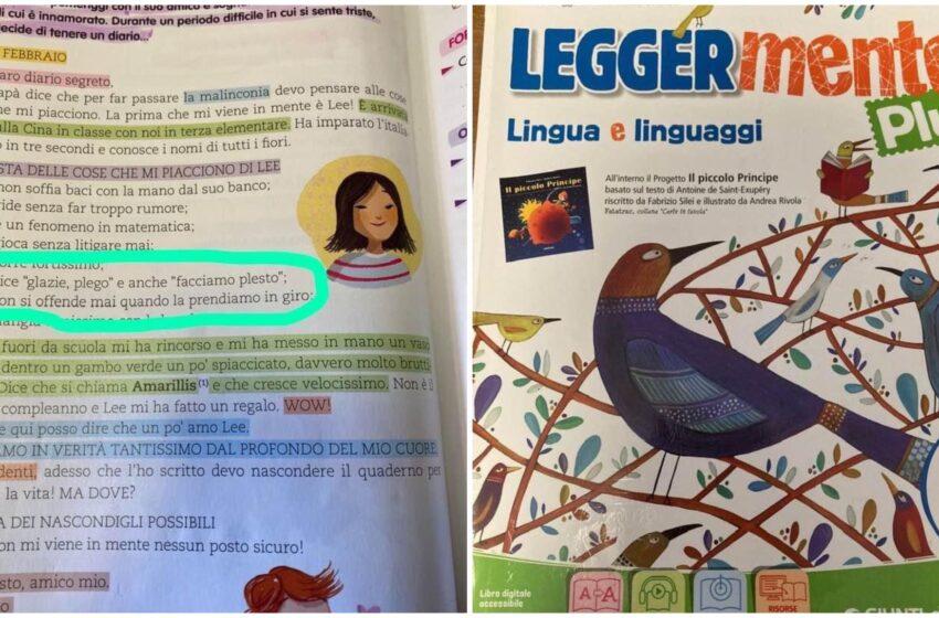 'Glazie, plego' su testo scolastico, la denuncia di una docente contro gli stereotipi