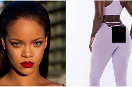 Rihanna crea i leggings con lato B scoperto: il web si divide
