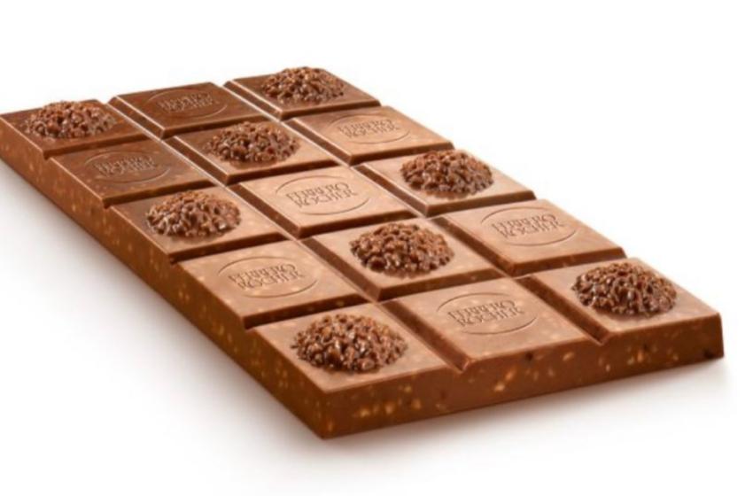 Il Ferrero Rocher si trasforma in tavoletta: 3 nuovi gusti in arrivo nei supermercati
