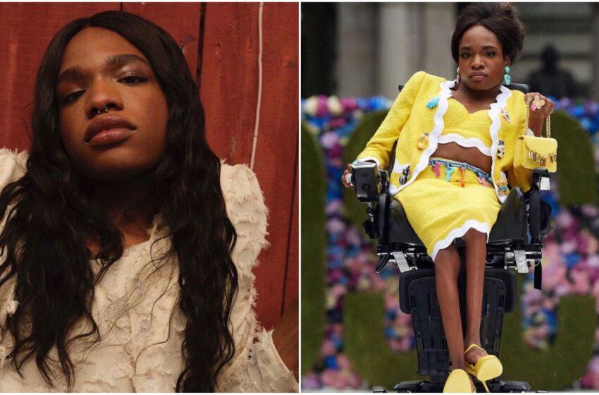 Aaron Rose, disabile e transgender, diventa il volto di Moschino per la nuova collezione